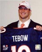 Tim Tebow 25th Draft Pick LIMITED STOCK Denver Broncos 8X10 Photo