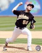 Justin Duchscherer Oakland Athletics 8X10 Photo