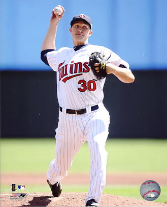 Scott Baker LIMITED STOCK Minnesota Twins 8X10 Photo
