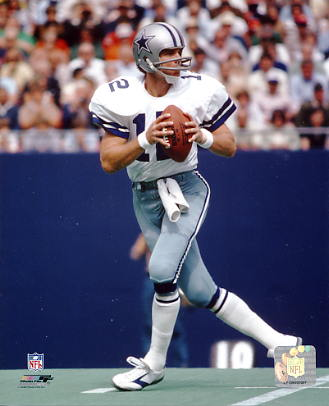 Roger Staubach Dallas Cowboys SATIN 8X10 Photo