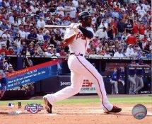 Jason Heyward Hits 3 Run Home Run First MLB At Bat Atlanta Braves 8X10 Photo