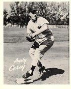 Andy Carey Original Team Issue Photo 8x10 New York Yankees