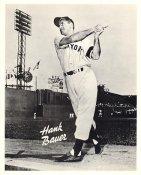 Hank Bauer Original Team Issue Photo 8x10 New York Yankees