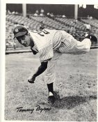 Tommy Byrne Original Team Issue Photo 8x10 New York Yankees
