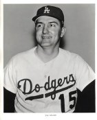Tom Haller Original Team Issue Photo 8x10 LA Dodgers