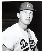 Bill Larkin Original Team Issue Photo 8x10 LA Dodgers