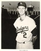 Don Demeter Original Team Issue Photo 8x10 LA Dodgers