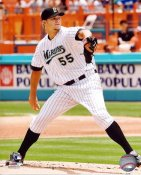 Josh Johnson LIMITED STOCK Florida Marlins 8X10 Photo