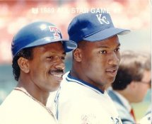 Bo Jackson Royals & Julio Franco Rangers 1989 All-Star Game G1 Limited Stock Rare 8X10 Photo