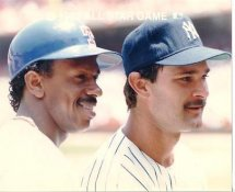 Don Mattingly Yankees & Julio Franco Rangers 1989 All-Star Game G1 Limited Stock Rare 8X10 Photo