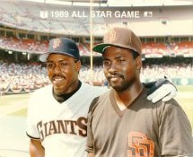 Kevin Mitchell Giants & Tony Gwynn Padres 1989 All-Star Game G1 Limited Stock Rare 8X10 Photo