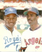 Bo Jackson Royals & Devon White Angels 1989 All-Star Game G1 Limited Stock Rare 8X10 Photo