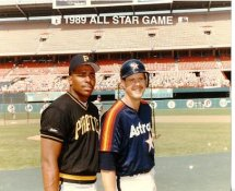 Bobby Bonilla Pirates & Glenn Davis Astros 1989 All-Star Game G1 Limited Stock Rare 8x10 Photo