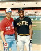 Bobby Bonilla Pirates & Tim Wallach Expos 1989 All-Star Game G1 Limited Stock Rare 8x10 Photo