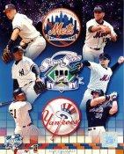 Mike Piazza, Mike Hampton, Orlando Hernandez Mets & Derek Jeter, Bernie Williams NYY LIMITED STOCK 8X10 Photo