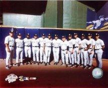 Jason Giambi,Derek  Jeter, Jorge Posada, Mariano Rivera, Alfonso Soriano, Robin Ventura & Joe Torre G1 Limited Stock Rare Yankees 8X10 Photo