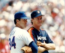 Nolan Ryan 1989 All Star Game G1 Limited Stock Rare Rangers 8X10 Photo