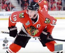 Jonathan Toews Game 1 Stanley Cup Finals 2010 Chicago Blackhawks 8x10 Photo