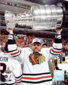 Brian Campbell With 2010 Stanley Cup Chicago Blackhawks 8x10 Photo