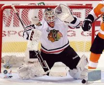 Antti Niemi 2010 Stanley Cup Finals Chicago Blackhawks 8x10 Photo