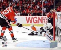 Dustin Byfuglien Game 5 Stanley Cup Finals 2010 Chicago Blackhawks 8x10 Photo
