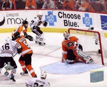 Patrick Kane Game Winning Goal 2010 Stanley Cup Finals Chicago Blackhawks 8x10 Photo