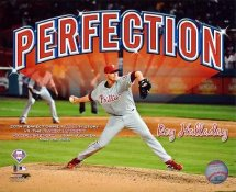 Roy Halladay Perfect Game Celebration Philadelphia Phillies 8X10 Photo LIMITED STOCK