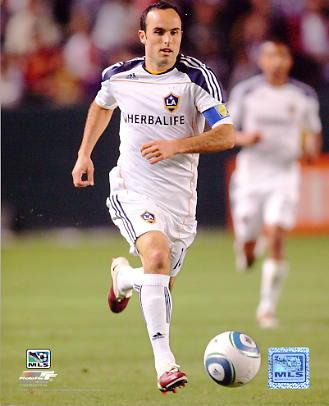 Landon Donovan LA Galaxy 2010 Mens Soccer 8x10 Photo