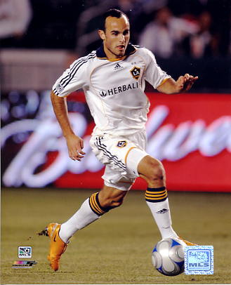 Landon Donovan LA Galaxy 2008 Mens Soccer 8x10 Photo