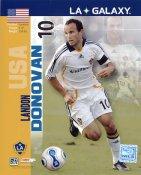 Landon Donovan LA Galaxy 2007 USA Mens Soccer 8x10 Photo