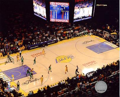 N2 Staples Center 2010 Finals Game 1 LA Lakers 8X10 Photo