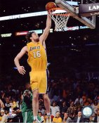 Pau Gasol 2010 Finals Game 1 Los Angeles Lakers 8x10 Photo LIMITED STOCK