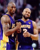 Derek Fisher & Kobe Bryant 2010 Finals Game 3 Win Celebration Los Angeles Lakers 8x10 Photo LIMITED STOCK
