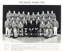Chicago 1973 BlackHawks Original Team Limited & Rare 8X10 Photo