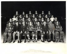 Chicago 1977-78 BlackHawks Original Team Limited & Rare 8X10 Photo