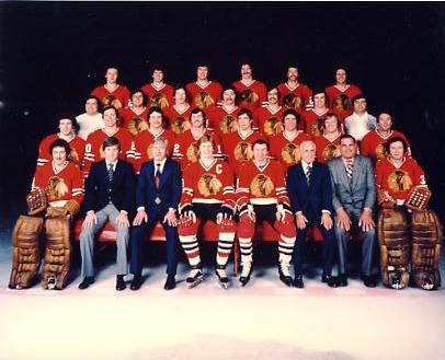 Chicago 1977-78 BlackHawks Original Team Limited & Rare 8X10 Photo