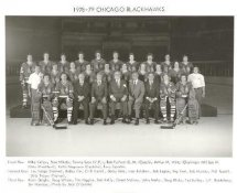 Chicago 1978-79 BlackHawks Original Team Limited & Rare 8X10 Photo