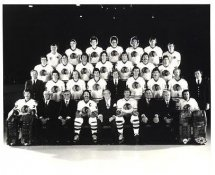 Chicago 1980's BlackHawks Original Team Limited & Rare 8X10 Photo