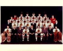Chicago 1980's BlackHawks Original Team Limited & Rare 8X10 Photo