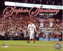 Stephen Strasburg 1st MLB Game 2010 Washington Nationals 8X10 Photo