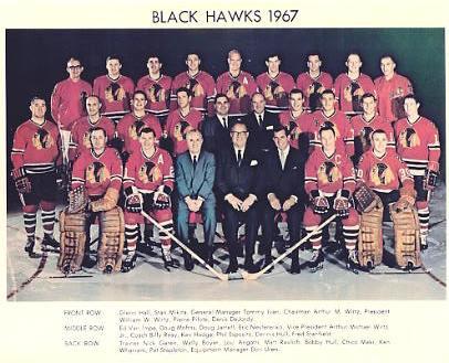 Chicago 1967 BlackHawks Team G1 Limited & Rare 8X10 Photo