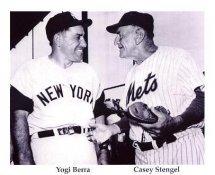 Casey Stengel & Yogi Berra New York Yankees & Mets 8X10 Photo