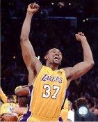 Ron Artest Game 7 Celebration NBA Champs 2010 LIMITED STOCK LA Lakers 8X10 Photo
