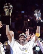 Kobe Bryant 2010 MVP & Champs Trophies Los Angeles Lakers 8x10 Photo LIMITED STOCK