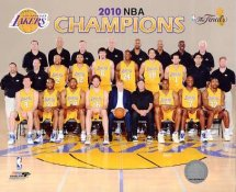 Lakers 2010 Team NBA Champions 8x10 Photo LIMITED STOCK