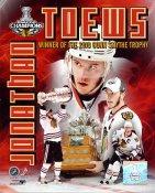 Jonathan Toews 2010 Stanley Cup & Conn Smythe Winner Chicago Blackhawks 8x10 Photo