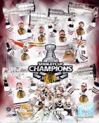 Blackhawks 2010 Limited Edition 2010 Stanley Cup Champs 8X10 Photo