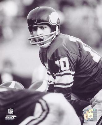 Fran Tarkenton Minnesota Vikings 8X10 Photo