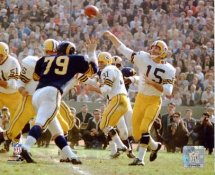 Bart Starr Green Bay Packers 8X10 SATIN Photo