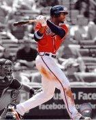 "Jason Heyward ""Spotlight""  Atlanta Braves 8X10 Photo"